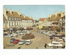 21 - BEAUNE - Place Carnot -voitures, Animée -renault 4 - Frankreich