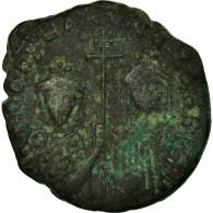 Monnaie, Constantine VII Porphyrogénète, Follis, Constantinople, TTB+, Cuivre - Byzantine
