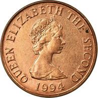 Monnaie, Jersey, Elizabeth II, Penny, 1994, TTB+, Copper Plated Steel, KM:54b - Jersey
