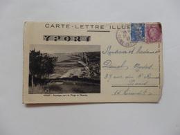 Yport, Carte-lettre. - Yport