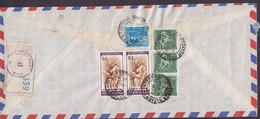 India Air Mail PUNJAB NATIONAL BANK Registered Einschreiben Label SADAR BAZAR, DELHI 1971 Cover Deutsche Bank KÖLN - Indien