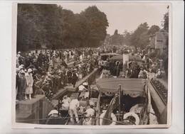 ASCOT SUNDAY RIVER THAMES BOULTER'S LOCK MAIDENHEAD  25*20 CM Fonds Victor FORBIN 1864-1947 - Lugares