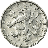 Monnaie, République Tchèque, 50 Haleru, 1993, TTB, Aluminium, KM:3.1 - Czech Republic