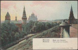 Vue Prise Du Kremlin, Moscou, 1910 - Knackstedt & Näther CPA - Russia