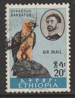 Ethiopia 1963 Airmail - Birds 20 C Multicoloured 527 O Used - Ethiopia