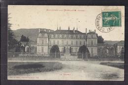CPA 88 - SAULXURES Sur MOSELOTTE - Le Château - TB PLAN Façade Edifice + Jolie Oblitération Recto - Saulxures Sur Moselotte