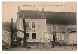 CESLOY LE BUREAU DE POSTE LE JOUR DE L INAUGURATION  TRES ANIMEE - France