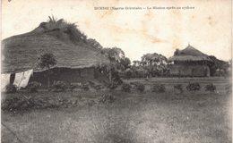 Carte Postale Ancienne De NIGERIA ORIENTALE - DEMSHI, Mission Après Un Cyclone - Nigeria
