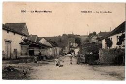 FOULAIN LA GRANDE RUE ANIMEE - France