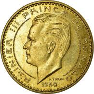 Monnaie, Monaco, 20 Francs, 1950, SUP, Cupro-Aluminium, Gadoury:140, KM:E27 - Monaco