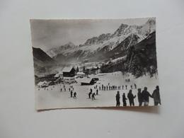 Les Houches, Vue Générale- La Chaîne Du Mont-Blanc. - Les Houches