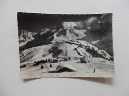 Les Houches, Col De Voza, L'aiguille Du Gouter Et Le Mont-Blanc. - Les Houches
