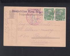 KuK GSK Mit ZuF 1916 Standschützenkompagnie Strigno 1916 - Briefe U. Dokumente