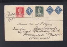 Niederlande Brief 1924 Nach Freudenstadt - 1891-1948 (Wilhelmine)