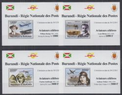 L255. Burundi - MNH - Transport - Airplanes - Deluxe - Sin Clasificación