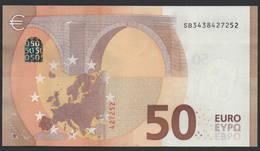 """50 EURO ITALIA  SB  S019   Ch. """"43""""  -  UNC - EURO"""