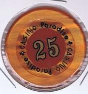 Casino Chip 25 Dollars Casino Paradise Nairobi Kenya - Casino