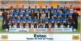 10 - Troyes - ESTAC Equipe De Football ( Foot ) 1 Er Division Saison 2002 / 2003 - Troyes