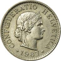 Monnaie, Suisse, 5 Rappen, 1967, Bern, TTB+, Copper-nickel, KM:26 - Suisse