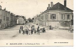 Ac8/      10   Bar Sur Aube        Le Faubourg De Paris      (animations) - Arcis Sur Aube