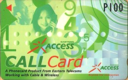 Philippines - Eastern Telecom, GPT, 332PETA,  Access Call, 23.000ex, Used - Filippine