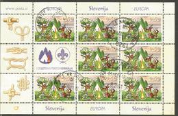 SI 2007-644 EUROPA CEPT, SLOWENIEN, MS, Used - Europa-CEPT
