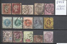 G448-LOTE SELLOS CLASICOS GRAN BRETAÑA TASADOS 130,00€ YVERT.BUENA CALIDAD,VEAN.REINA VICTORIA - Used Stamps