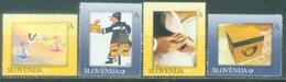 SI 2007-630-3 Personal Stamps, SLOVENIA, 1 X 4v, MNH - Slovénie