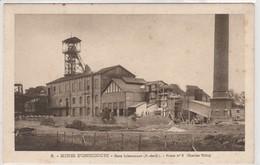 LIBERCOURT GARE MINES OSTRICOURT MINEURS  FOSSE N°6 CHARLES TILLOY  CHEVALET - Andere Gemeenten