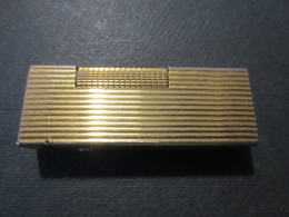 """Briquet Gaz Marque """" Dunhill  """" US 24163 Patented - Made In Switzerland  - B.E - - Dunhill"""