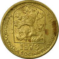 Monnaie, Tchécoslovaquie, 20 Haleru, 1973, TTB, Nickel-brass, KM:74 - Tchécoslovaquie