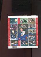 Belgie Blok Feuillet BL128 Biljart Billard Billiards Ceulemans PLAATNUMMER 4  Onder Postprijs Sous Faciale !!! - Blocks & Sheetlets 1962-....