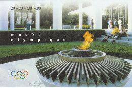 SCHWEIZ  Markenheftchen MH 1 IOC/CIO, Gestempelt, Olympische Sommerspiele Sydney  2000 - Dienstpost