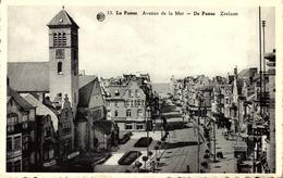 Belgique > Flandre Occidentale > De Panne  :LA PANNE  /  PLAGE   /CAMPING HOTEL CONTINETAL / AVENUE  DE LA MER /  TTBE - De Panne