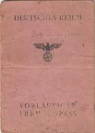 Passaporto Tedesco - Deutscher Reisepass - German Passport - Documents