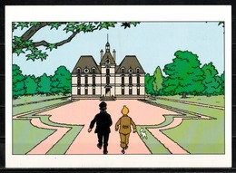 CP Tintin : Editions Hergé/Moulinsart N°  ( Recto-Verso ) - Bandes Dessinées