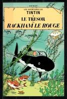 CP Tintin : Editions Hergé/Moulinsart N° 30080 ( Recto-Verso ) - Bandes Dessinées