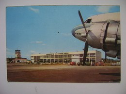 BRAZIL - AFONSO PENA AIRPORT (CURITIBA CITY) POSTCARD AIRPLANE OF VARIG(?) IN THE STATE - 1946-....: Moderne