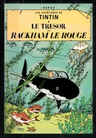 CP Tintin : Editions Hergé/Moulinsart N° 080 ( Recto-Verso ) - Bandes Dessinées