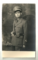 """4016 """"MILITARE DEL CORPO SANITARIO"""" FOTO ORIG.FOTOGRAFIA CAV. CAVAJA'-TORINO - Guerre, Militaire"""