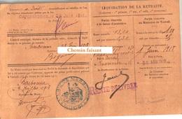 03/07/1918 BIGOU PIERRE Carte D'identité Narbonne 11 - Vieux Papiers