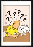 CP Tintin : Editions Hergé/Moulinsart N° 017 ( Recto-Verso ) - Bandes Dessinées