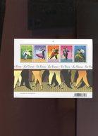 Belgie BL136 TYPE B 'zonder Drukdatum' Dans Dances Tango Samba Onder Postprijs Sous Prix Faciale !!! - Blocks & Sheetlets 1962-....