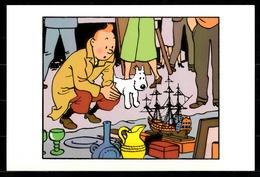 CP Tintin : Editions Hergé/Moulinsart Sundancer N° 040 ( Recto-Verso ) - Bandes Dessinées