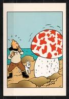 CP Tintin : Editions Hergé/Moulinsart N° 038 ( Recto-Verso ) - Bandes Dessinées