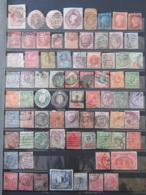 Collection De Timbres De Grande-Bretagne / Angleterre + Colonies Anglaises (Malte, Mauritius, Trinidad, Victoria, Etc) - Stamps