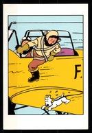 CP Tintin : Editions Hergé/Moulinsart Sundancer N° 037 ( Recto-Verso ) - Bandes Dessinées