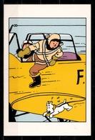CP Tintin : Editions Hergé/Moulinsart N° 037 ( Recto-Verso ) - Bandes Dessinées