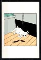 CP Tintin : Editions Hergé Tintin Licensing ( Recto-Verso ) - Bandes Dessinées