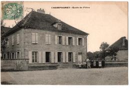 CHAMPAGNEY ECOLE DE FILLES ANIMEE - France